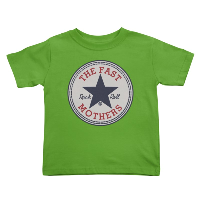 Sneaker Logo Kids Toddler T-Shirt by The Fast Mothers