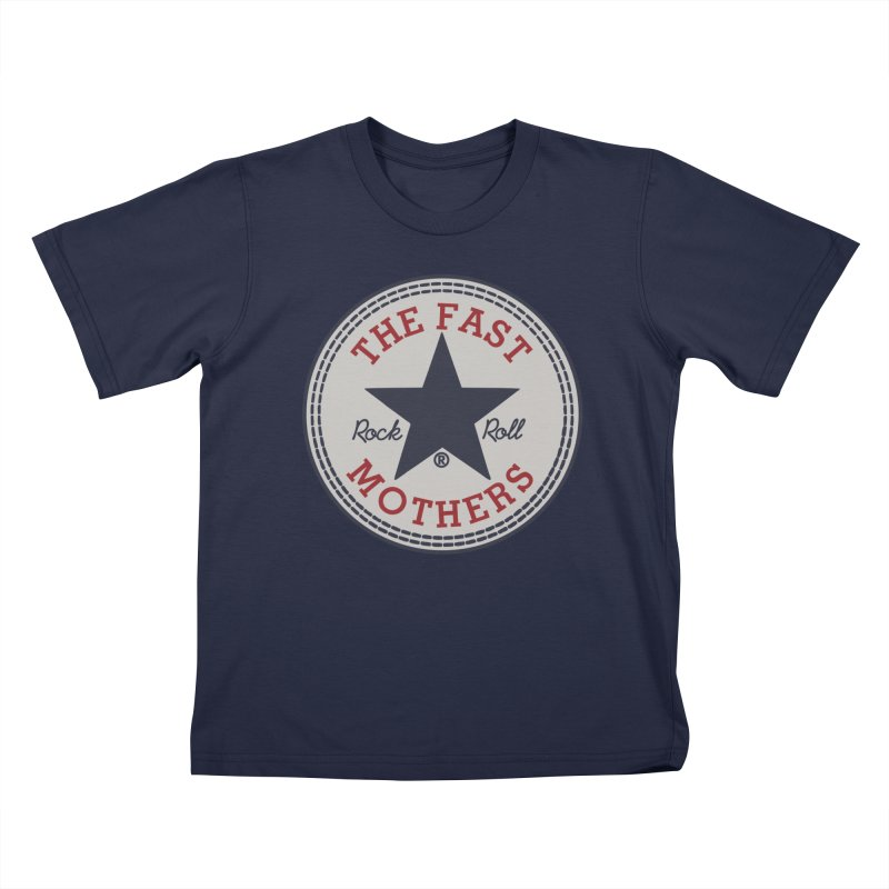 Sneaker Logo Kids T-Shirt by The Fast Mothers