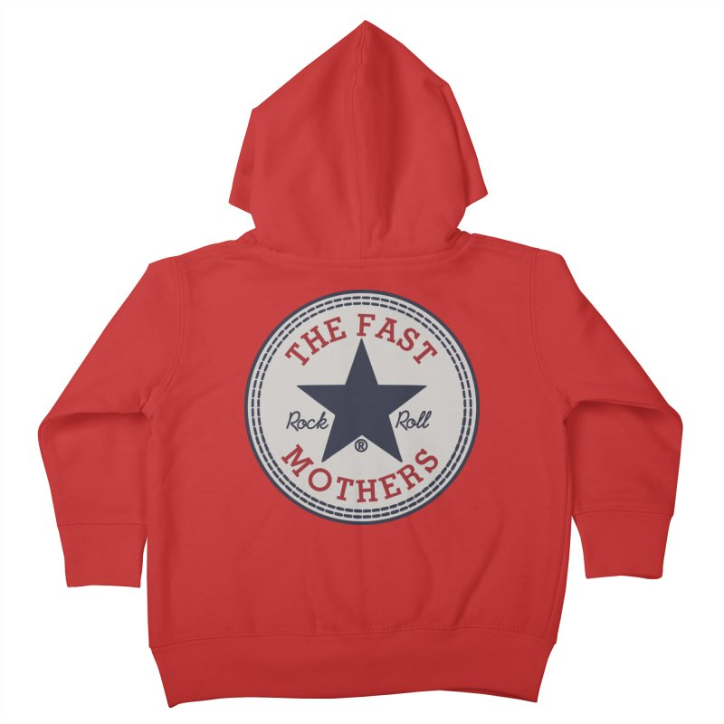 Sneaker Logo Kids Toddler Zip-Up Hoody by The Fast Mothers