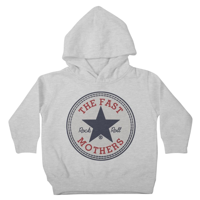 Sneaker Logo Kids Toddler Pullover Hoody by The Fast Mothers