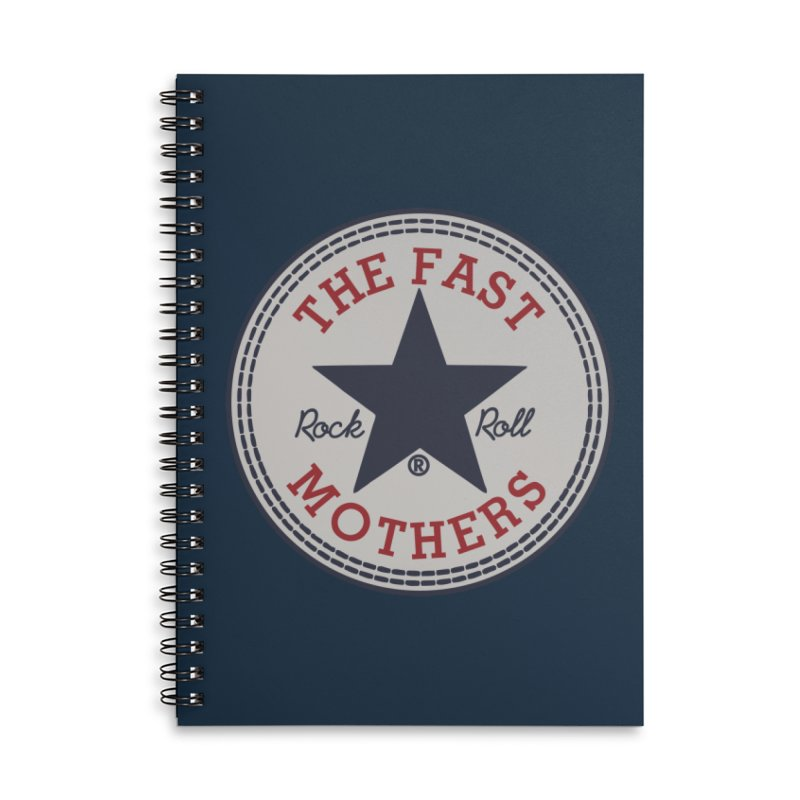 Sneaker Logo Accessories Notebook by The Fast Mothers