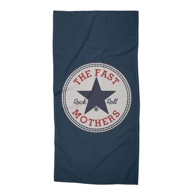 Sneaker Logo Accessories Beach Towel by The Fast Mothers