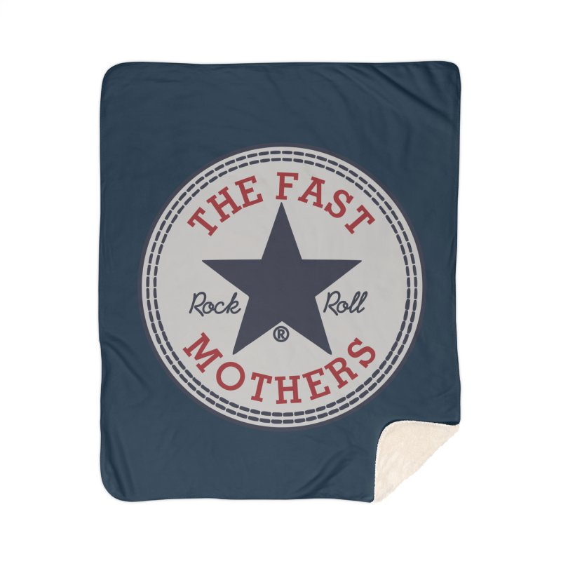 Sneaker Logo Home Blanket by The Fast Mothers