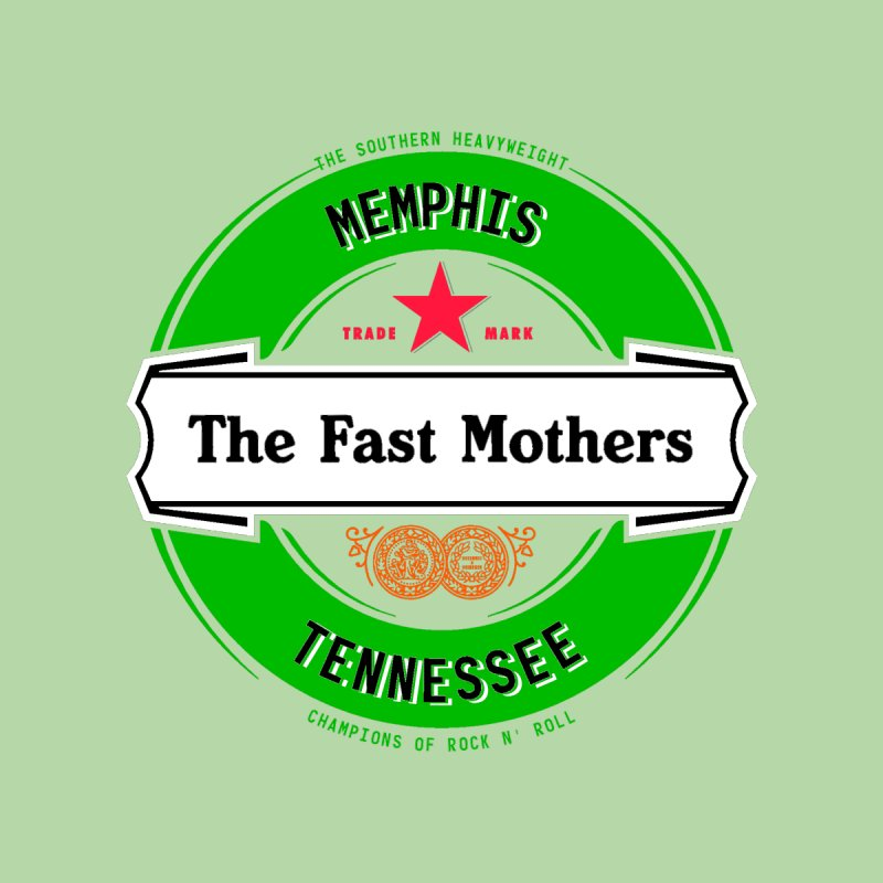 Beer Logo (white banner) Home Throw Pillow by The Fast Mothers