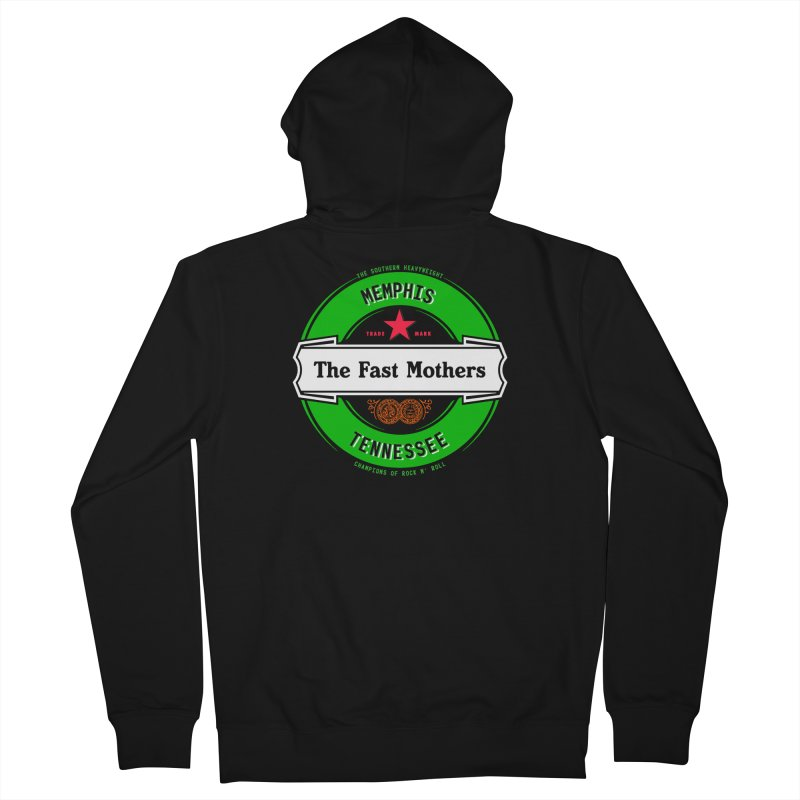 Beer Logo (white banner) Women's Zip-Up Hoody by The Fast Mothers