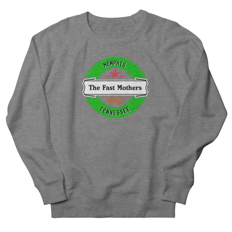 Beer Logo (white banner) Women's Sweatshirt by The Fast Mothers