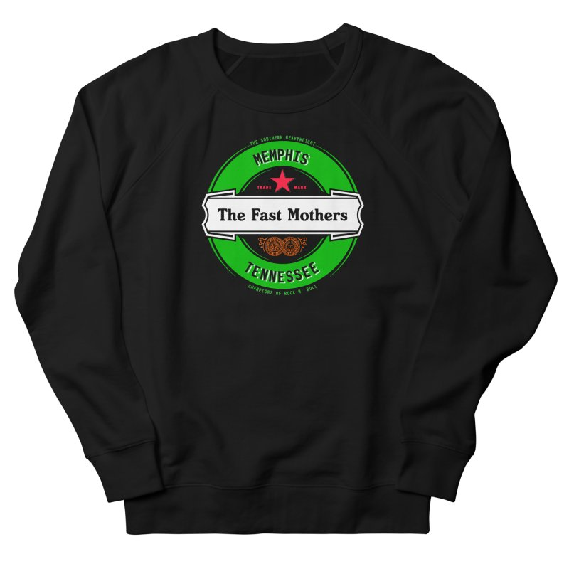 Beer Logo (white banner) Men's Sweatshirt by The Fast Mothers