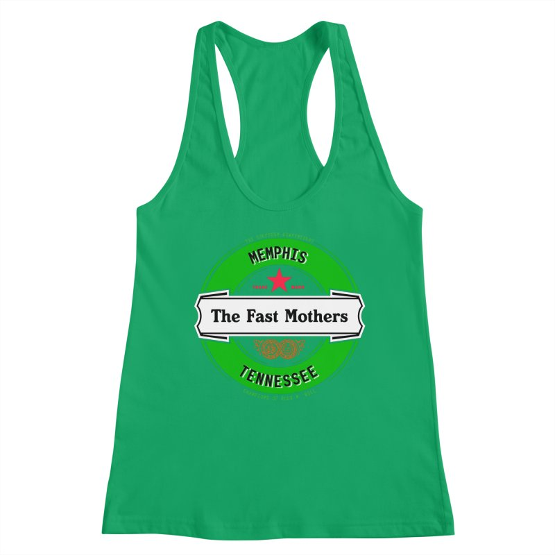 Beer Logo (white banner) Women's Tank by The Fast Mothers
