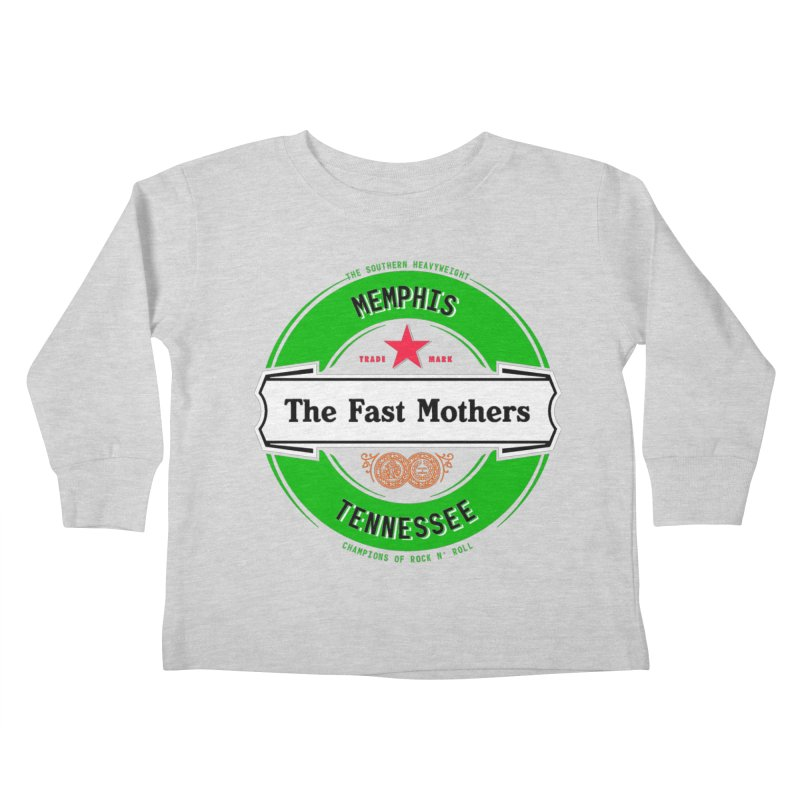 Beer Logo (white banner) Kids Toddler Longsleeve T-Shirt by The Fast Mothers