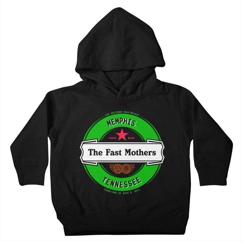Beer Logo (white banner) Kids Toddler Pullover Hoody by The Fast Mothers