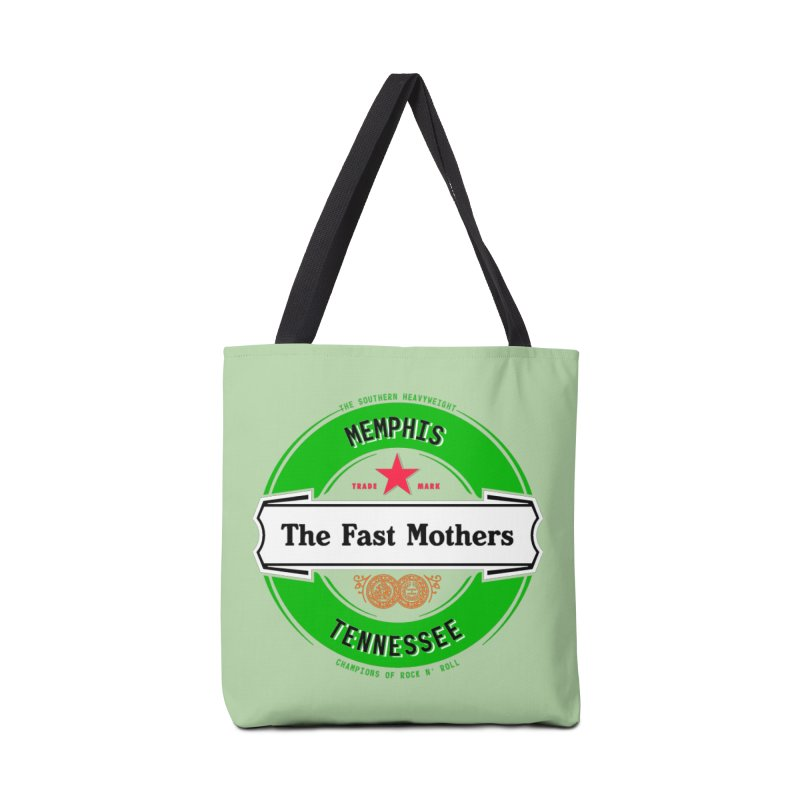 Beer Logo (white banner) Accessories Bag by The Fast Mothers