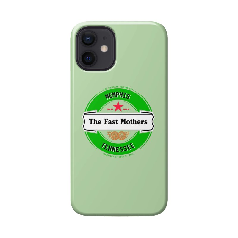 Beer Logo (white banner) Accessories Phone Case by The Fast Mothers
