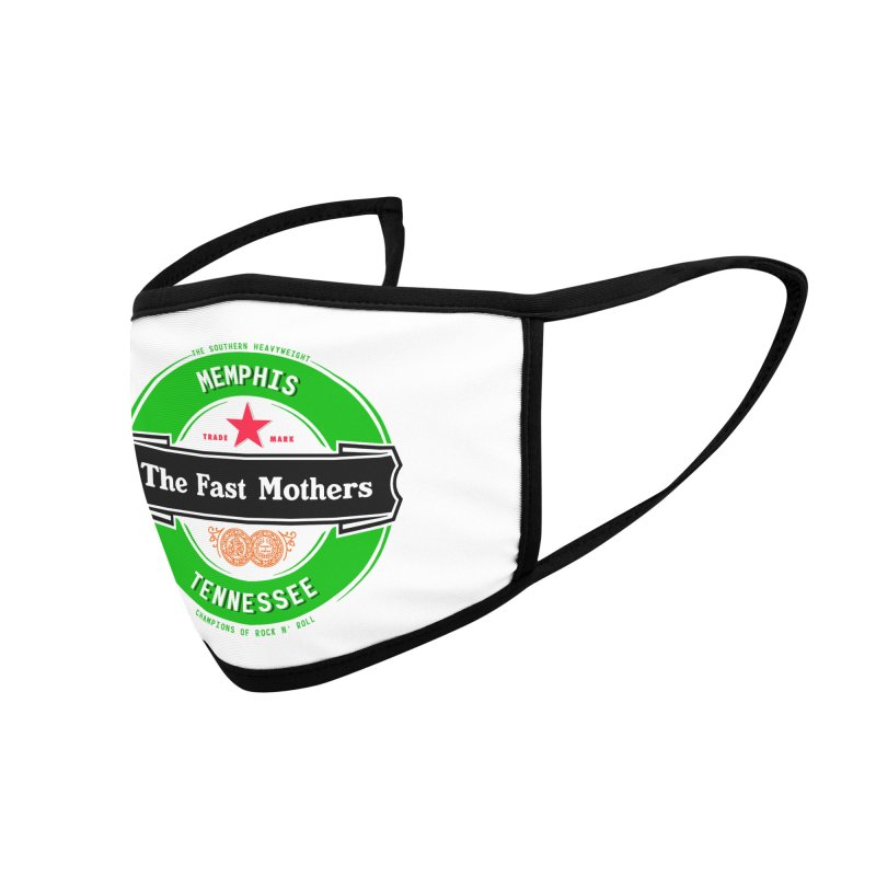 Beer Logo (black banner) Accessories Face Mask by The Fast Mothers