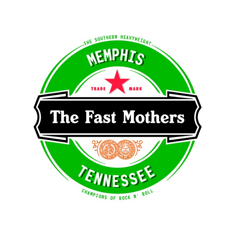 Beer Logo (black banner) Accessories Sticker by The Fast Mothers