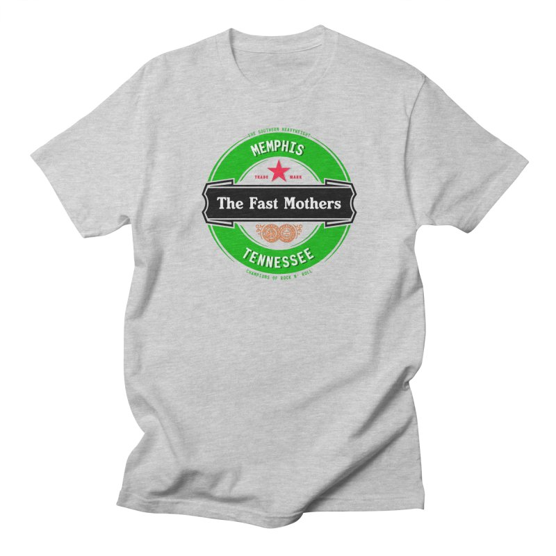Beer Logo (black banner) Men's T-Shirt by The Fast Mothers