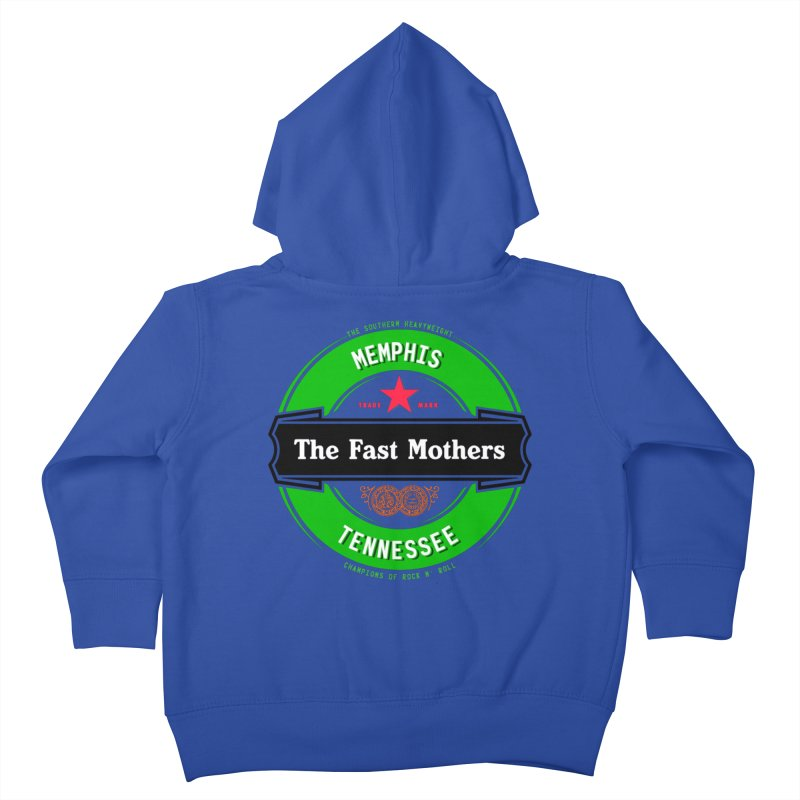 Beer Logo (black banner) Kids Toddler Zip-Up Hoody by The Fast Mothers