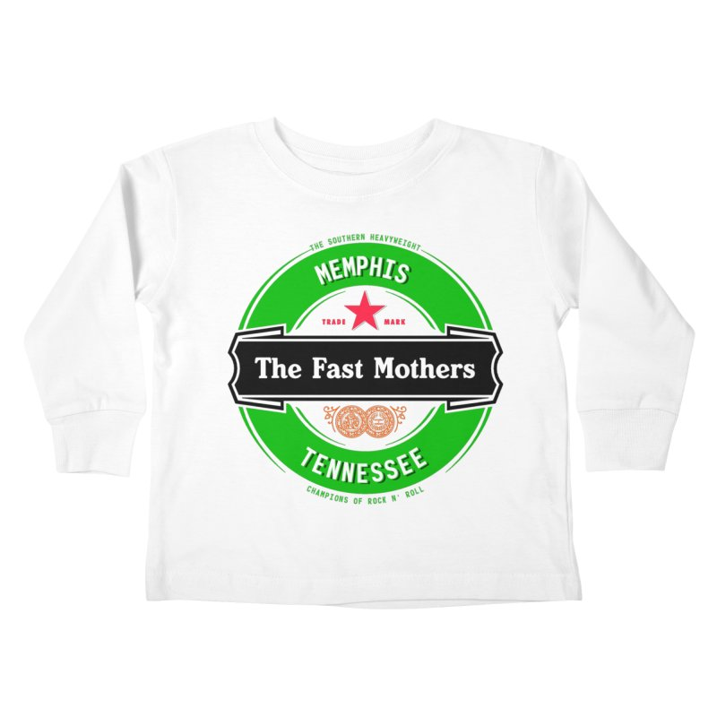 Beer Logo (black banner) Kids Toddler Longsleeve T-Shirt by The Fast Mothers