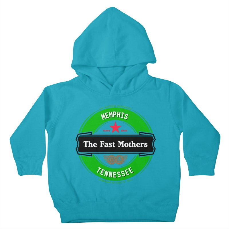 Beer Logo (black banner) Kids Toddler Pullover Hoody by The Fast Mothers