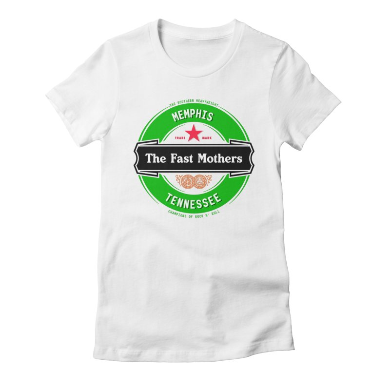 Beer Logo (black banner) Women's T-Shirt by The Fast Mothers