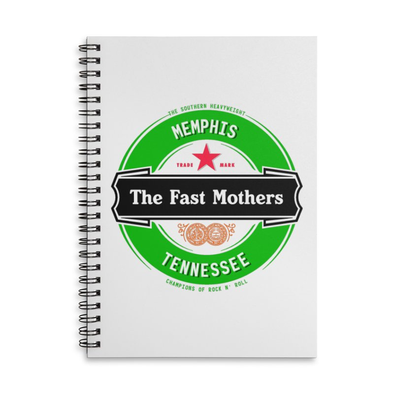 Beer Logo (black banner) Accessories Notebook by The Fast Mothers