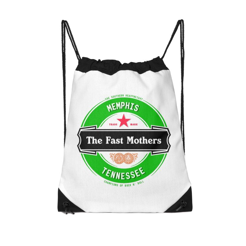 Beer Logo (black banner) Accessories Bag by The Fast Mothers
