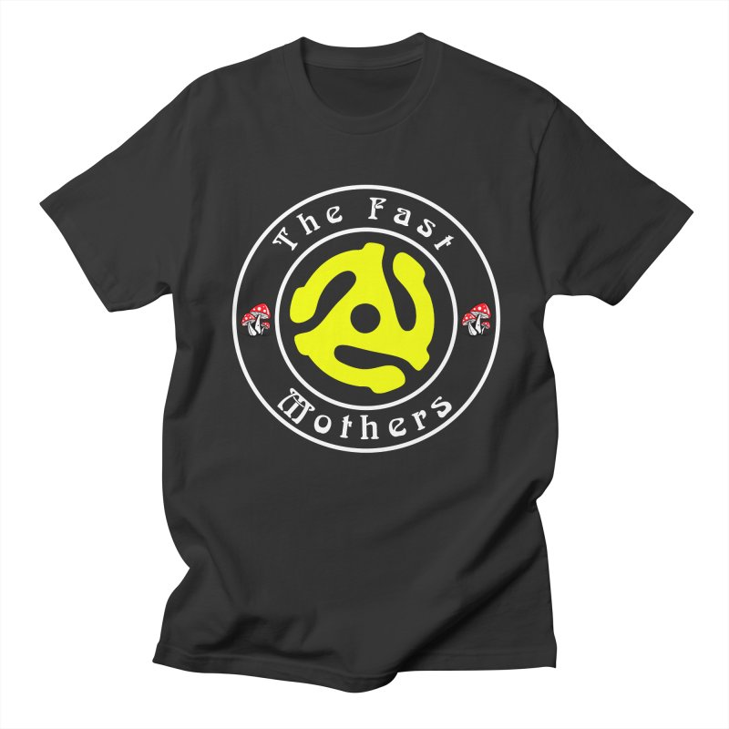 45 RPM for Dark Colors Men's T-Shirt by The Fast Mothers