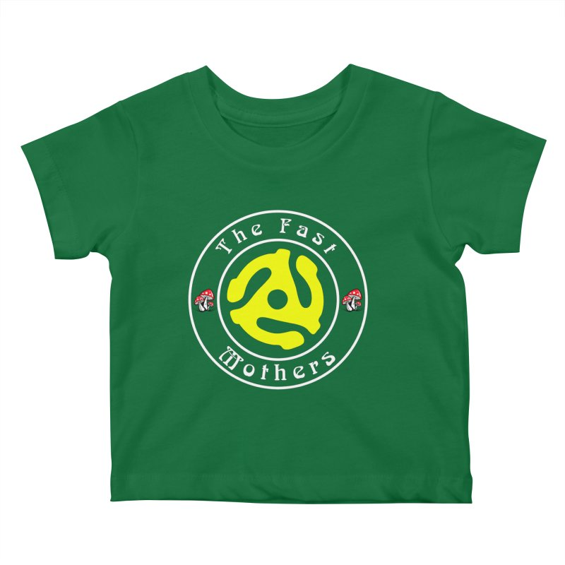 45 RPM for Dark Colors Kids Baby T-Shirt by The Fast Mothers