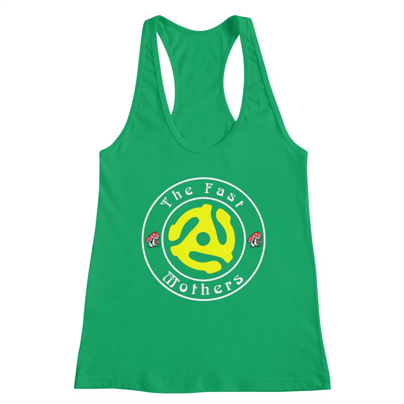 45 RPM for Dark Colors Women's Tank by The Fast Mothers