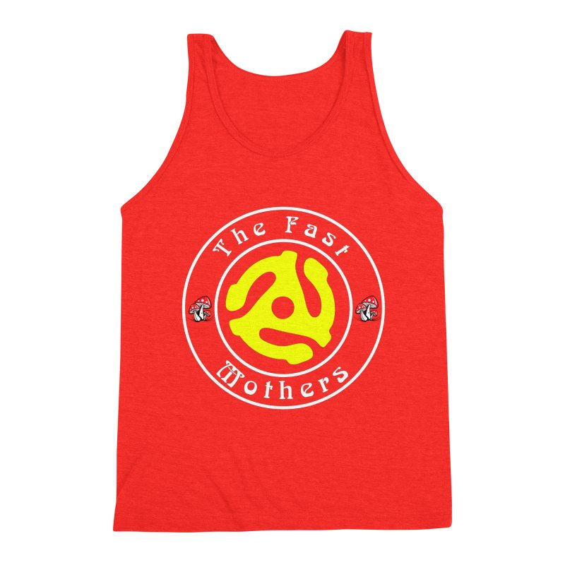 45 RPM for Dark Colors Men's Tank by The Fast Mothers