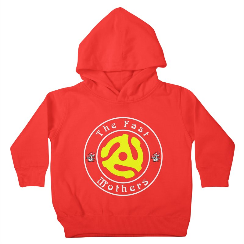 45 RPM for Dark Colors Kids Toddler Pullover Hoody by The Fast Mothers