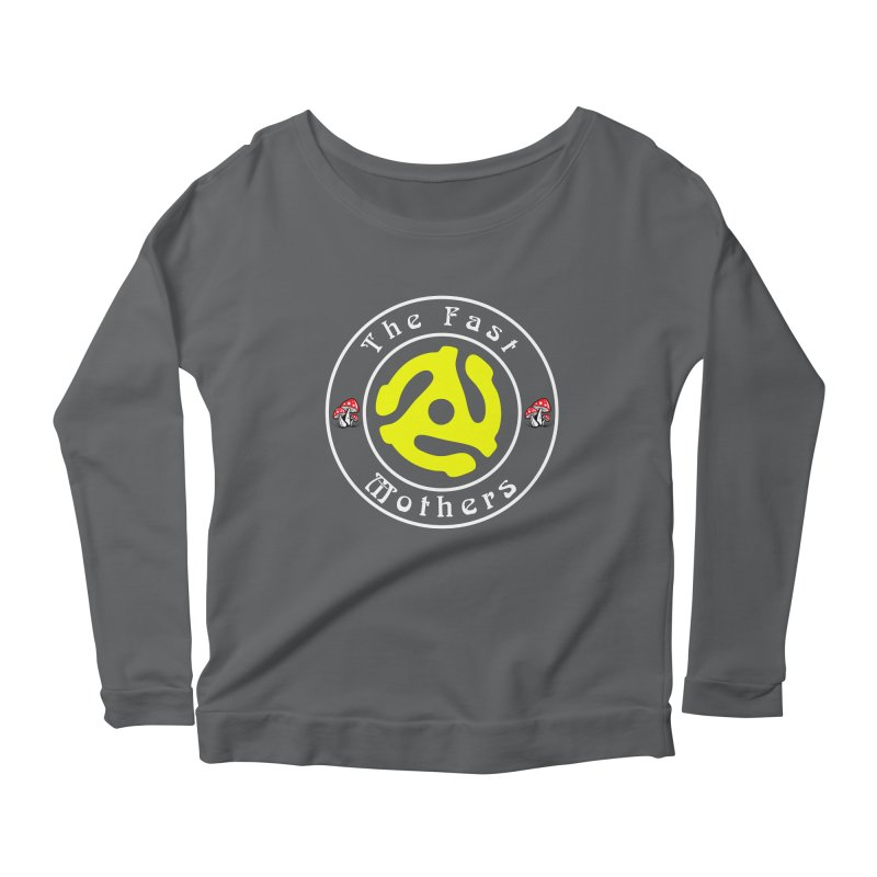 45 RPM for Dark Colors Women's Longsleeve T-Shirt by The Fast Mothers