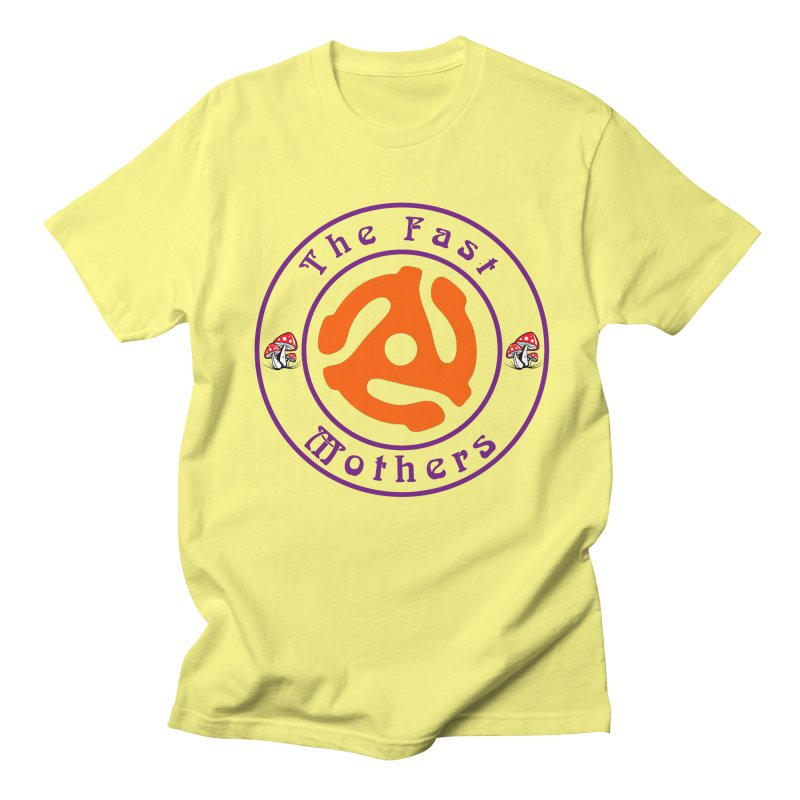 45 RPM for Light Colors Men's T-Shirt by The Fast Mothers