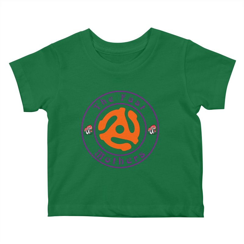 45 RPM for Light Colors Kids Baby T-Shirt by The Fast Mothers