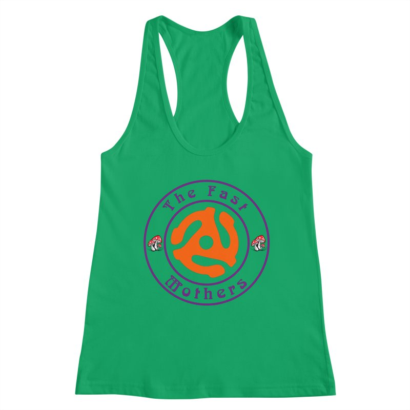 45 RPM for Light Colors Women's Tank by The Fast Mothers