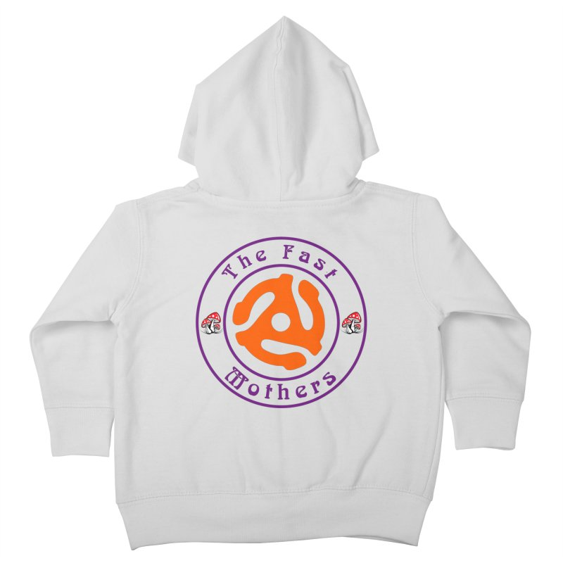 45 RPM for Light Colors Kids Toddler Zip-Up Hoody by The Fast Mothers