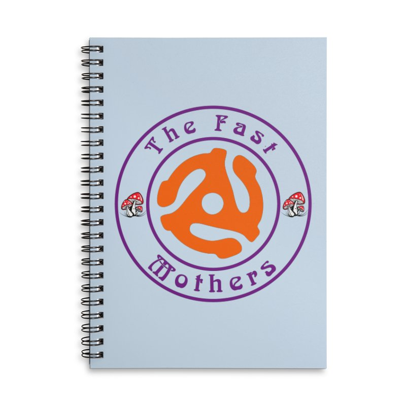 45 RPM for Light Colors Accessories Notebook by The Fast Mothers