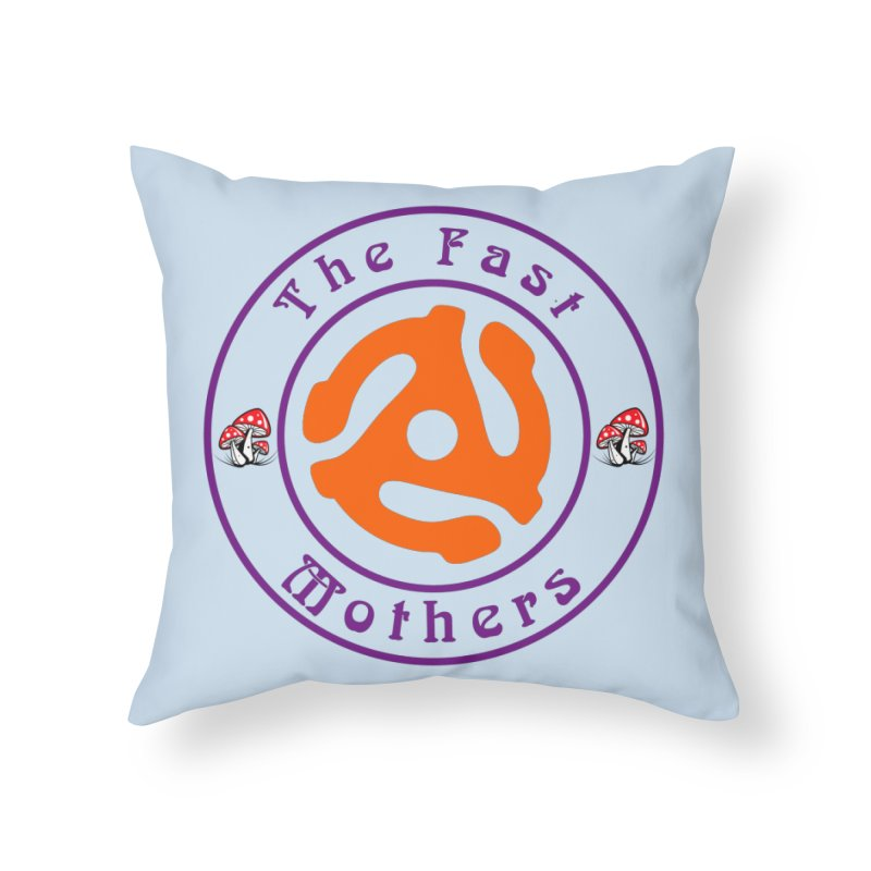 45 RPM for Light Colors Home Throw Pillow by The Fast Mothers
