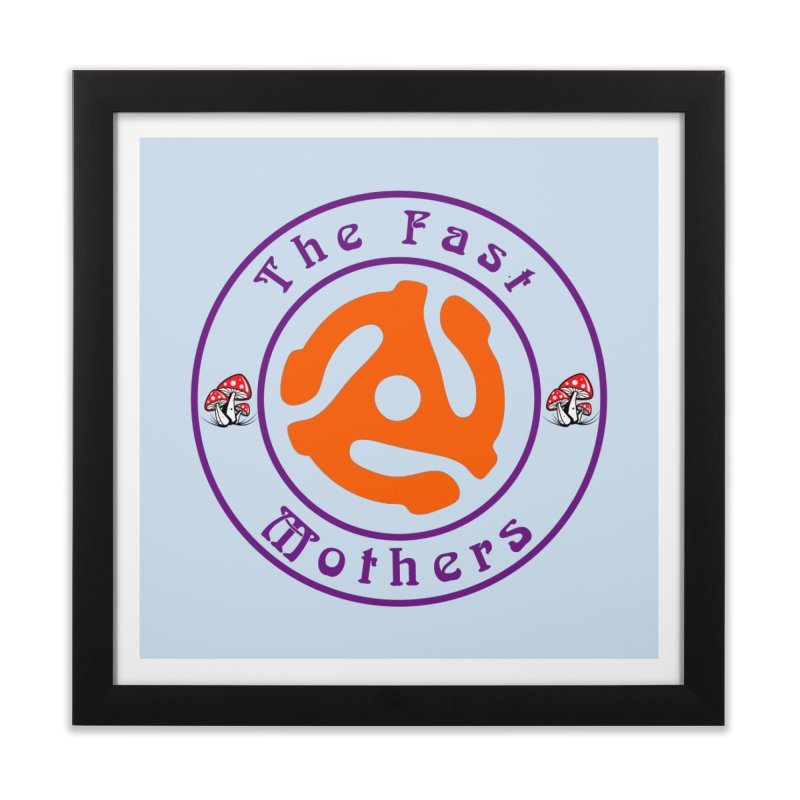 45 RPM for Light Colors Home Framed Fine Art Print by The Fast Mothers