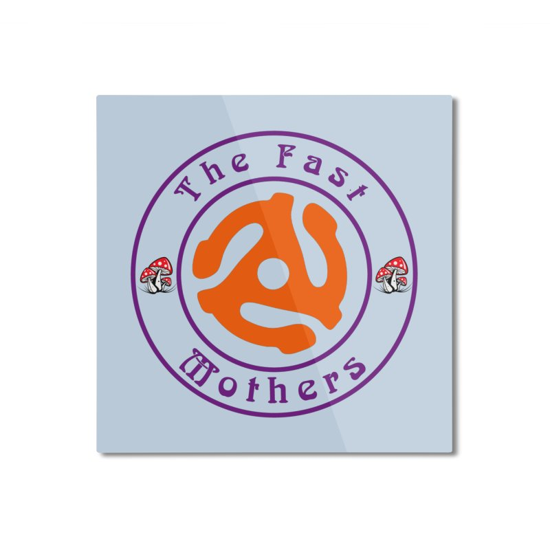 45 RPM for Light Colors Home Mounted Aluminum Print by The Fast Mothers
