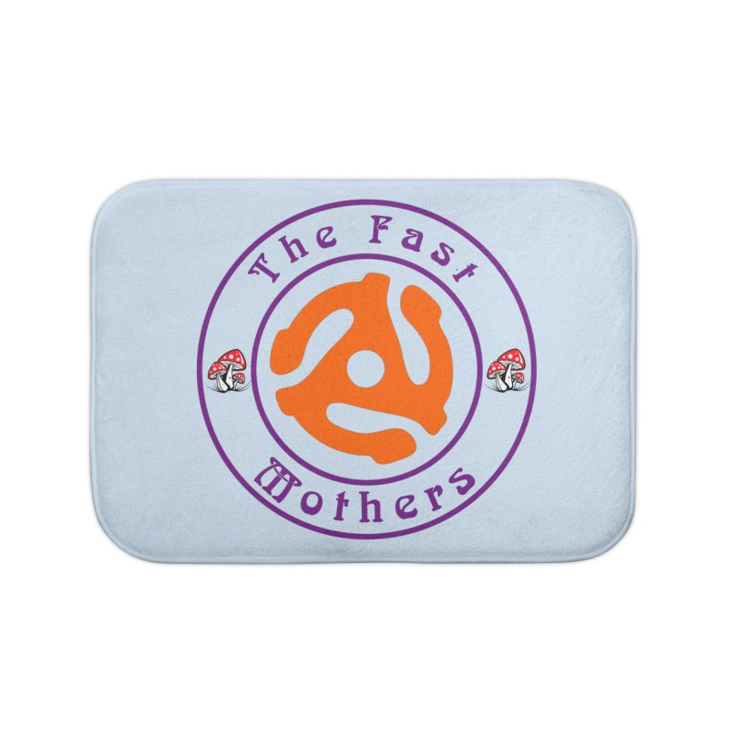 45 RPM for Light Colors Home Bath Mat by The Fast Mothers
