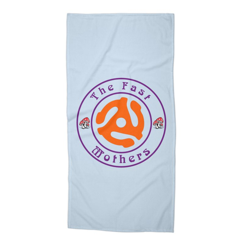 45 RPM for Light Colors Accessories Beach Towel by The Fast Mothers