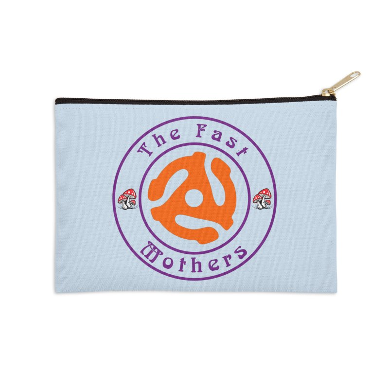 45 RPM for Light Colors Accessories Zip Pouch by The Fast Mothers
