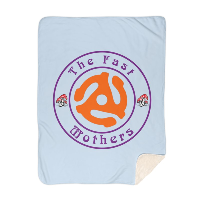 45 RPM for Light Colors Home Blanket by The Fast Mothers