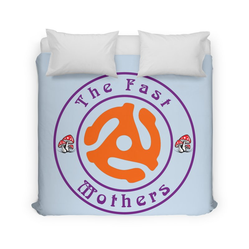 45 RPM for Light Colors Home Duvet by The Fast Mothers