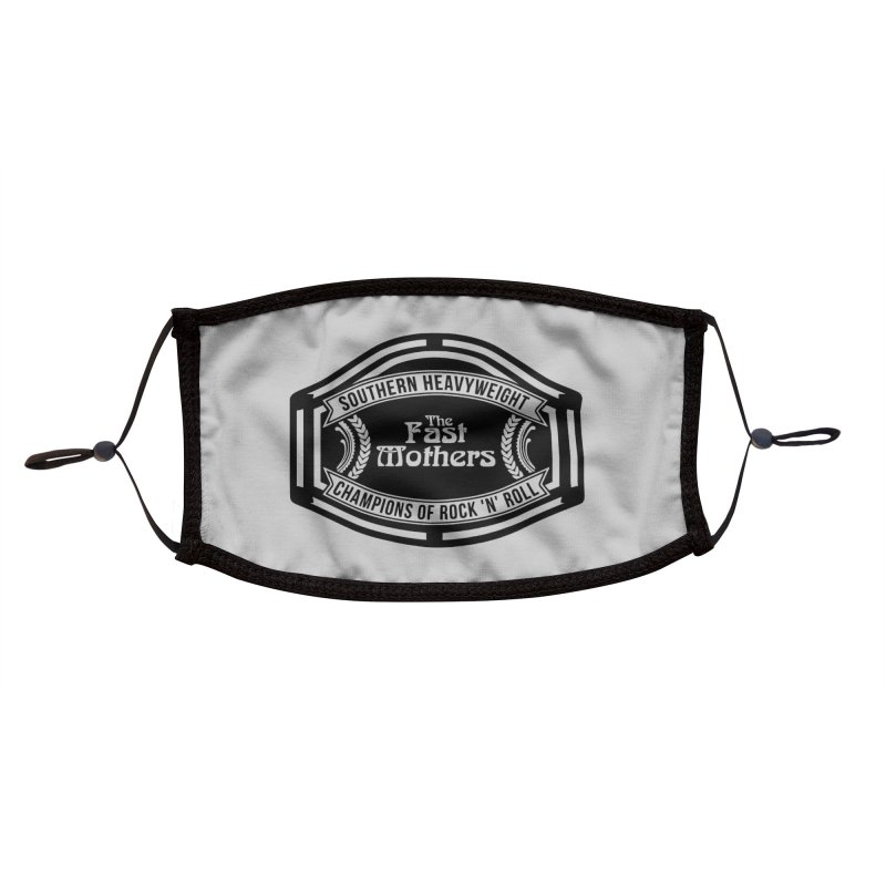 Champion Belt for Light Colors Accessories Face Mask by The Fast Mothers