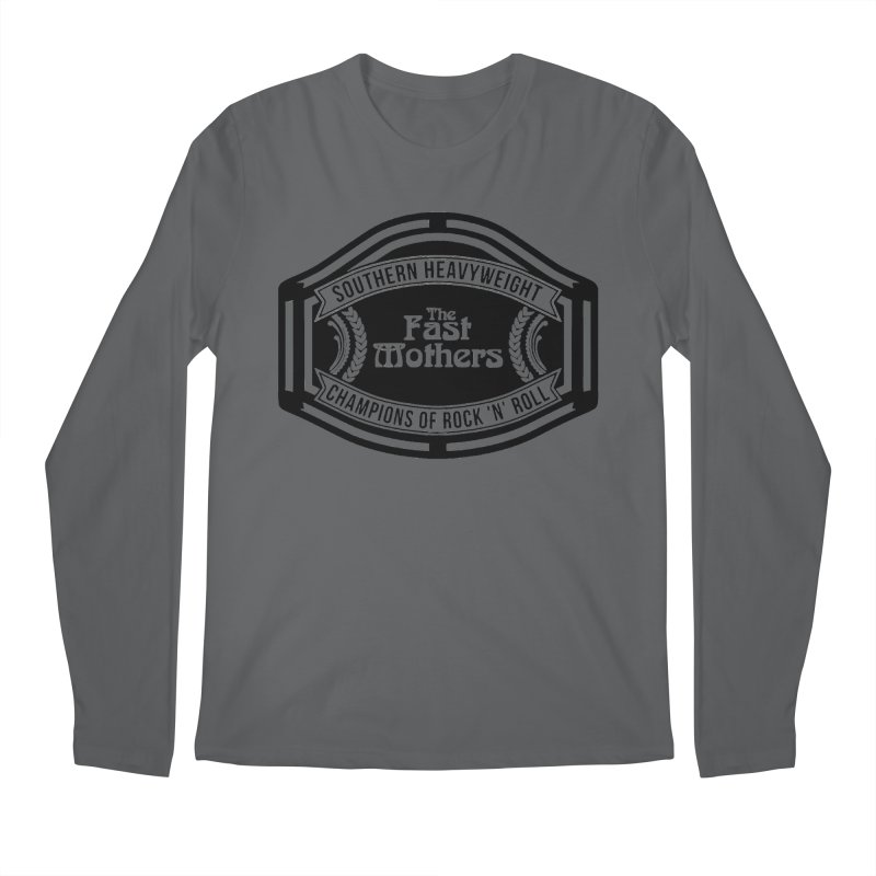 Champion Belt for Light Colors Men's Longsleeve T-Shirt by The Fast Mothers