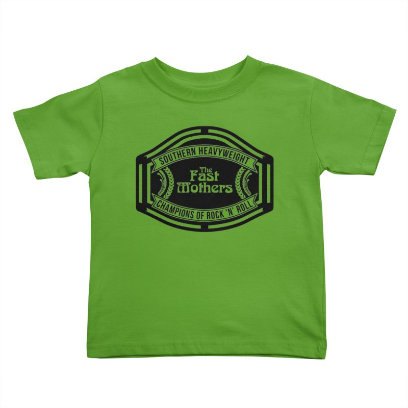 Champion Belt for Light Colors Kids Toddler T-Shirt by The Fast Mothers