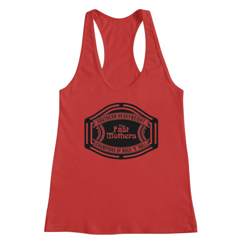 Champion Belt for Light Colors Women's Tank by The Fast Mothers