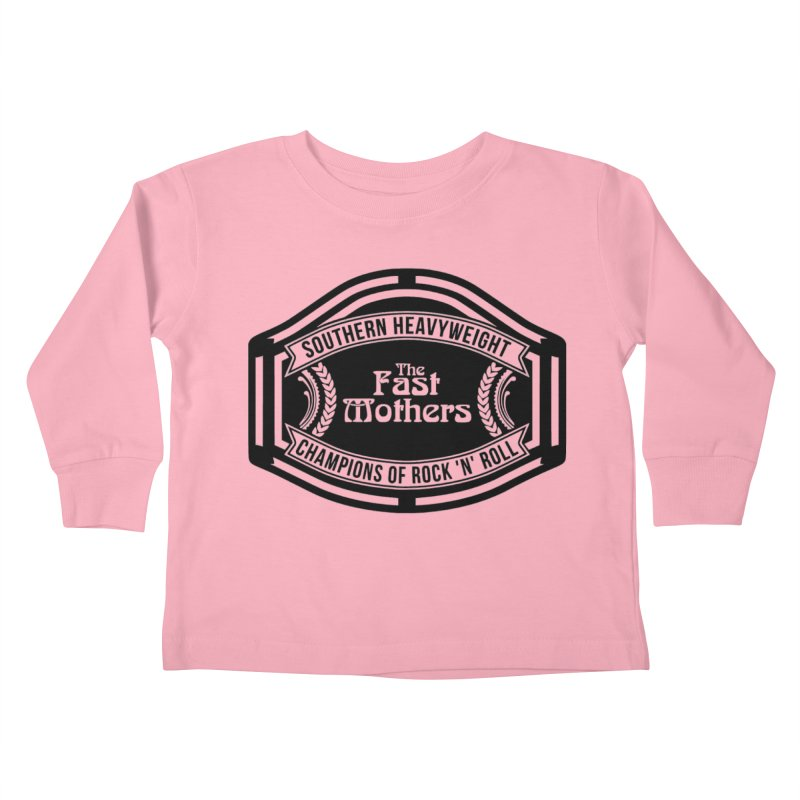 Champion Belt for Light Colors Kids Toddler Longsleeve T-Shirt by The Fast Mothers