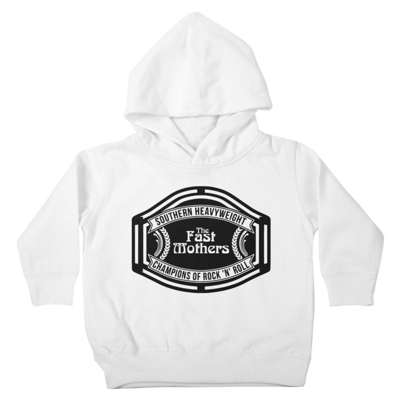 Champion Belt for Light Colors Kids Toddler Pullover Hoody by The Fast Mothers